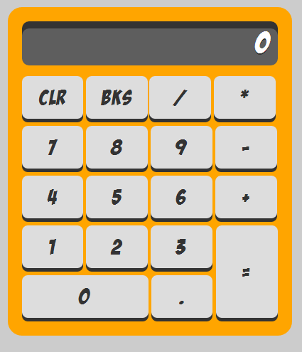 Basic JavaScript Calculator Project with Source Code