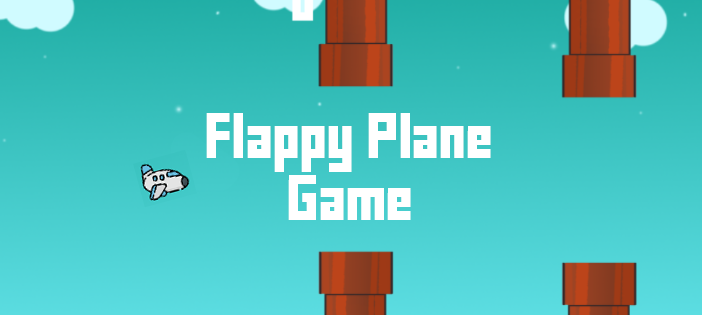 Flappy Plane Game In UNITY ENGINE With Source Code